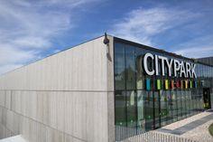 Façade CETRIS BASIC, Citypark Jihlava (CZ)