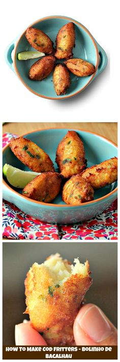 Learn step by step how to make #CodFritters, a classic from #Portuguese cuisine. The perfect appetizer especially with a cold beer as you settle in to watch the #FIFA World Cup!