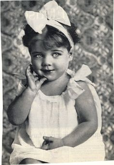 Little Princess Hélène of France (Hélène Astrid Léopoldine Marie d'Orléans) she was born Sep 17, 1934