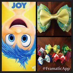Disney Pixar's Inside Out, meet Joy! Stars are hand painted! @amypoehler #joy…