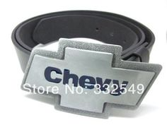 Online Shop PEWTER COLOR CHEVY belt Buckle with Free belt , Free shipping worldwide|Aliexpress Mobile