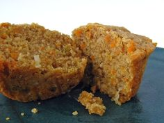 Carrot Cake Protein Mufffins: Look good, but I'm not sure I could go without the ooey gooey cream cheese frosting!