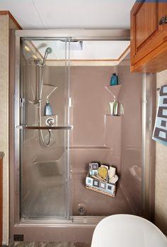 Lifestyle Luxury RV (LS37IK Floorplan) | A Huge Residential Shower In An RV.