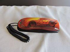 Cars Lightning Mcqueen Telephone Disney Pixar Model No. 630062 #KingAmerica