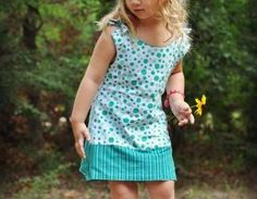 Allison Reversible Girls Dress Pdf ..