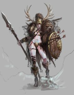 Female Barbarian, Some of my favorite pictures around the web. Female Orc, Fantasy Female Warrior, Fantasy Girl, Female Viking, Female Titan, Woman Warrior, Viking Woman, Female Character Concept, Fantasy Character Design