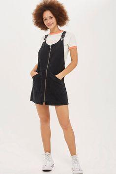 d58861ebbb3 TALL Zip Front Pinafore Dress