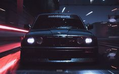 Download wallpapers 4k, Need For Speed Payback, BMW M3, e30, 2017 games, NFSP, autosimulator, Need For Speed, NFS