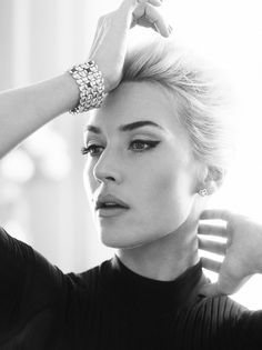 Kate Winslet in Harpers Bazaar UK by Alexi Lubomirski, April 2013.