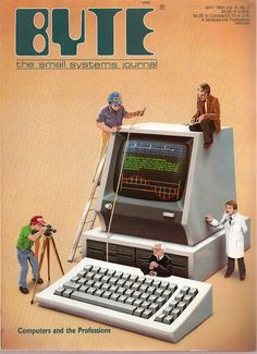 Byte Magazine - Computers and the professions