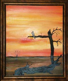 The first bird, the first sunset...