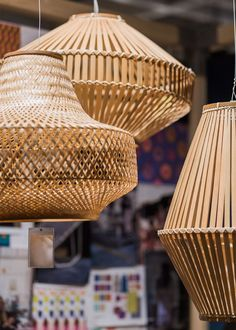 Ikea Jassa collection with Piet Hein Eek … - Home & DIY Decor, Ikea, Inspired Homes, Diy Home Decor, Bamboo Chair Design, Asian Home Decor, Indonesian Decor, Home Decor, Wicker Pendant Light
