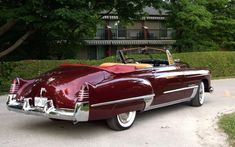 1948 Cadillac Convertible..Re-pin Brought to you by agents at #HouseofInsurance in #EugeneOregon for #LowCostInsurance.