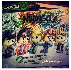 I love her art! #ninjago