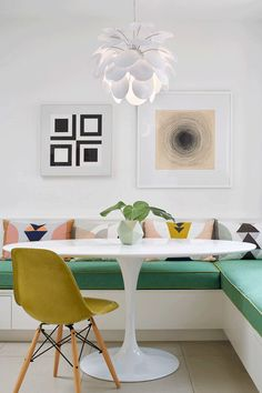 A mid-century home of art collectors
