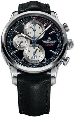 d52a7c16659 Maurice Lacroix Pontos Chronograph Men s Watch PT6288-SS001330