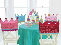 Tiara chair covers...I just love them!