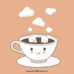 Taza de café divertida