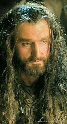 Thorin as we will always remember him...♥  I don't mind if they change the ending and keep him around in Hobbit:BoFA.