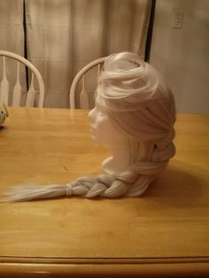 Adult Cosplay Costume Wig - Inspired by Elsa from Frozen on Etsy, $125.00