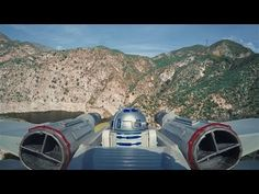 NYC Drone Film Festival: Drone Star Wars | R2-D2 goes for a ride in this New York City Drone Film Festival nominee from Corridor Digital - March 16, 2017