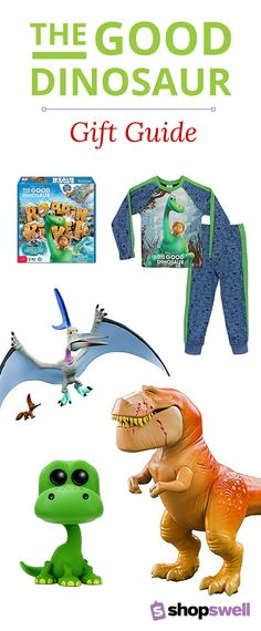 Disney's The Good Dinosaur hits theaters Thanksgiving weekend, but we've got the toys and gift items your kids will be asking for once they fall in love with these characters. Start shopping now and save money when you use our price tracking feature.