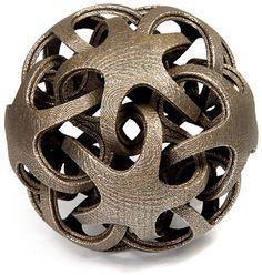 Math to Metal. Part artist,part scientist, part mathematician, part programmer, part sculptor; Bathsheba Grossman creates once impossible works of geometric beauty.
