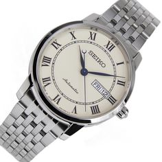 A-Watches.com - Seiko Presage SRP763J SRP763 Automatic Cream Dial Power Reserve Gents Dress 24 Jewels Watch, $207.00 (https://www.a-watches.com/seiko-presage-srp763j-srp763-automatic-cream-dial-power-reserve-gents-dress-24-jewels-watch/)