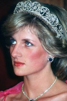 Princess Diana Wearing Spencer Tiara, 1983