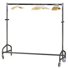 Rollbarer Kleiderständer, Maße: 180 x 165 cm (BxH)   Messebau, Eventgestaltung, München - DEKO-TEC - Messen und Events