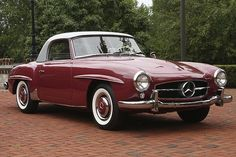#Mercedes-Benz 190 SL