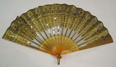Fan, French, ca. 1950, The Metropolitan Museum of Art.