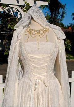 Gwendolyn Medieval Velvet & Lace Gown- Custom