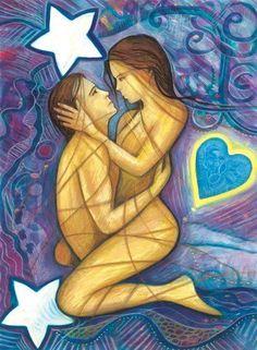 Authentische, liebevolle Begegnung mit offenem Herzen