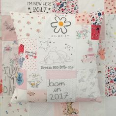 This was a matching Cushion and blanket with an extra special Crafts by Katie touch Keepsake Baby Gifts, How To Make An Envelope, Keepsake Quilting, Grandparent Gifts, Quilt Sizes, Creative Skills, Baby Items, Create Yourself, At Least