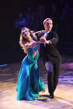Dancing With the Stars  -   Allison Holker & Riker Lynch - Foxtrot  -  Season 20  -  week-6  -  spring 2015