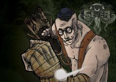 The Sewer, a steampunk first person dungeon crawler #madeinitaly #indiegames #videogames
