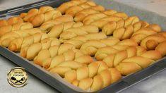 Greek Desserts, Greek Recipes, Greek Cookies, Desserts With Biscuits, Orange Cookies, Cookie Recipes, Food And Drink, Meals, Snacks