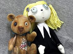 Sew Lenore - little dead girl Teddy Bear, Cool Stuff, Sewing, Toys, Handmade, Animals, Patterns, Feltro, Activity Toys
