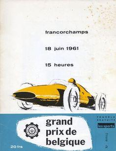 1961 GP de Belgica en Spa Francorchamps