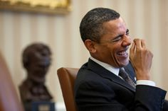 President Obama ~ I love this picture!