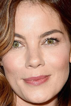 Close-up of Michelle Monaghan at the 2016 InStyle & Warner Bros. Golden Globes After-Party.