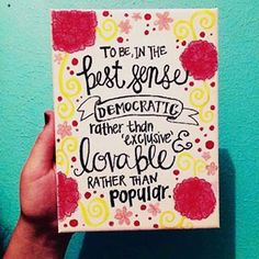 Chi Omega Symphony Quote Canvas Painting 9x12 (25.00 USD) by AmberleyDesigns
