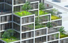I Love Modern Architecture - Sky VIllage: Copenhagen, Denmark - My Modern Metropolis