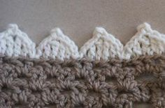 Scalloped Edging -- Wide Pointed Version: Project Description