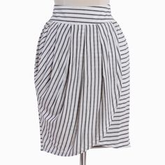 In Line With You Striped Skirt - ShopRuche $32.99