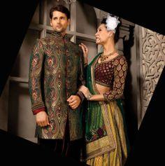 Mens Sherwani, Gentleman's Wardrobe, Personal Style, High Neck Dress, Mens Fashion, Embroidery, Elegant, Wedding, Color