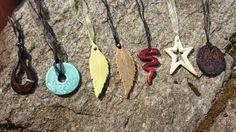 Halsband i keramik / Ceramic necklace / Handgjord keramik / Handmade ceramics / dbME - design by Mona Elwing Ceramic Necklace, Washer Necklace, Pottery, Ceramics, Handmade, Jewelry, Design, Ceramica, Ceramica