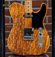 Rick Kelly Guitars - The Worm kellyguitars.com