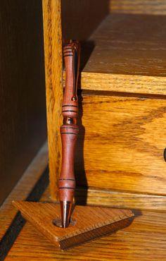 Wooden Cedar Pen. $11.75, via Etsy.